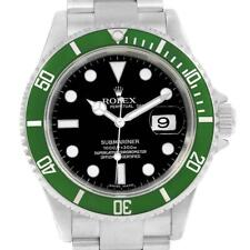Rolex Submariner 50th Anniversary Green Kermit Watch 16610LV Box Papers