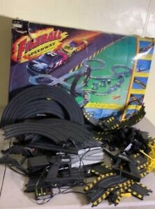 Marchon Fireball Speedway Electric Racing Track and slot cars (NO BOX) COMPLETE!