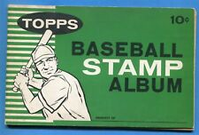 1961 Topps Baseball Stamp Album = 40 Pages