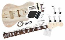 Kit d'assemblage de basse électrique au bricolage JB-Style de guitare basse