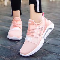 Women's Sneakers Sport Shoes Running Lace-up shoe outdoor Breathable Black Pink
