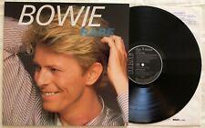 David Bowie - Rare - RCA - PL 89001 - (1983) German Import w/lyric inner sleeve