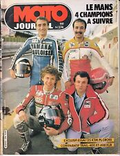 "MOTO JOURNAL N° 574 OCTOBRE 1982 ""125 KTM  PL CROSS / LE MANS"""