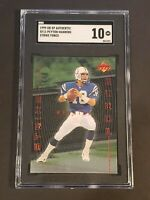 1999 UD SP Authentic SF11 Peyton Manning SGC 10 Newly Graded PSA BVS