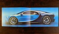 New Limited Edition BUGATTI CHIRON VIP Brochure Guide Pamphlet