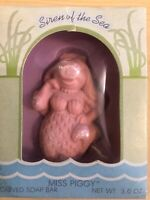 1981 Miss Piggy Carved Soap Bar Siren Of The Sea Hallmark