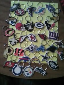 NFL KEY CHAINS pick your team