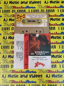 MC PEPPINO DI CAPRI E I NEW ROCKERS Napoli ieri oggi 1976 italy no cd lp dvd vhs