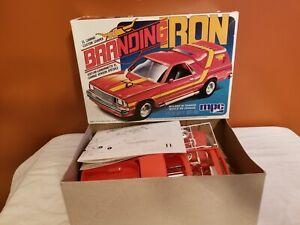 MPC Branding Iron Chev El Camino 1981 issue unbuilt MODEL CAR