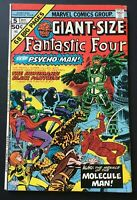 GIANT-SIZE FANTASTIC FOUR. NO. 5 BRONZE AGE 1975. STAN LEE JACK KIRBY  REPRINT.