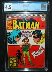 Batman #181 - 1st Appearance of Poison Ivy - CGC Grade 4.5 - 1966