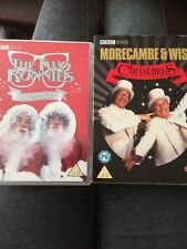 CHRISTMAS SPECIALS: The Two Ronnies & Morecambe & Wise In Vgc
