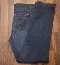 womens calvin klein jeans waist size 12uk, length 30inch