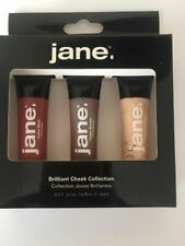 Jane Blush 3 Assorted Shades in Brilliant Cheek Blusher Collection BOXED