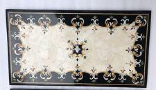 3'x2' Inlay Italian Marble Work Stone Hallway Furniture Decor Table Top E366