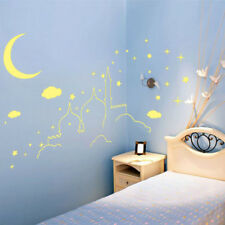 Fluorescent Islamic Castle Architecture Wall Sticker Shining Stars for Room