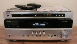 YAMAHA DOLBY SURROUND 5.1 ANLAGE RECEIVER RX-V 475 DVD-PLAYER S557 HDMI NETZWERK