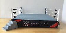 WWE Raw Scale Ring Wrestling Authentic Mattel Network Ring skirt Steps Buckle