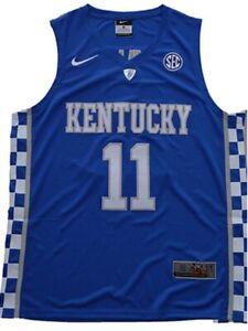 John Wall Jersey 11# Kentucky Wildcats University Sewn Basketball Jersey