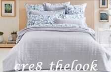SHERIDAN TAILORED HAMU SILVER KING BED COVER - BRAND NEW