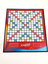 2007 Scrabble Game Board Only Hasbro Crossword Free Shipping