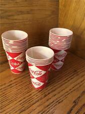27 Vintage Sweetheart COKE Coca-Cola ORIGINAL 7 oz Automatic Vending Paper cup