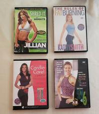 Lot of 4 Fitness Dvd's - Jillian, Kathy Smith, Beachbody, Debbie Siebers: Tested