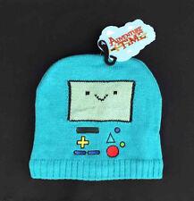 Adventure Time Beemo Knit Hat Blue Cartoon Network Licensed Beanie Cap Bioworld