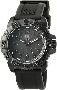 Luminox Watch Navy Seal Men's Swiss Colormark Blackout 3051.BO