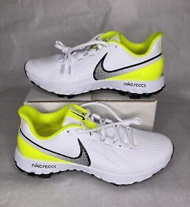 Nike Infinity Pro React Golf Shoes Lemon Venom (CT6620-103) Men's Size 10.5-13
