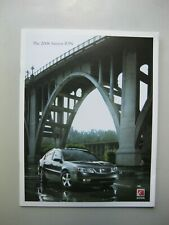 Saturn Ion prestige brochure Prospekt English text 36 pages 2006 Canada