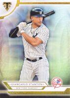 2018 Topps Triple Threads Baseball #19 Giancarlo Stanton New York Yankees