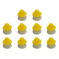 10xDoor Moulding Wheel Arch Trim Clips For Land Rover 2 3 4 Freelander P3I1) M5