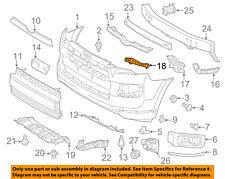 TOYOTA OEM 14-16 4Runner Front Bumper-Retainer Bracket Left 5213435080