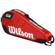 WILSON Federer Team 3 Racchetta da tennis bag RRP £ 39.99