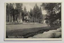 Ansichtskarte Marktschorgast  Fichtelgebirge Gasthaus Grundmühle1940  gelaufen