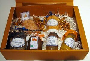 (GP 49,90 EUR/Stck) * Sanddorn Leckereien *Teepräsent Geschenkkorb Geschenk Set♥