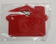 500 x House Shaped Letter Opener - Solid Red / office supply promo NIB
