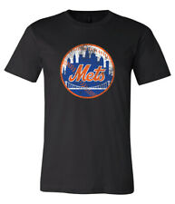 New York Mets Logo Distressed Vintage logo T-shirt 6 Sizes S-3XL!!
