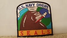 US Navy Divers SEALS Patch 3 1/2 x 3 1/2 inches
