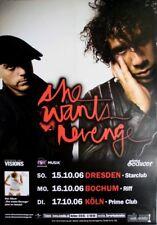 SHE WANTS REVENGE - 2006 - Konzertplakat - Concert - Tourposter