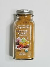 Hot Thai Curry Seasoning Organic Ground Spice Blend Mix Central Market