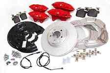 Genuine BMW Retrofit Kit freno sport rosso 1 2 3 SERIE 4 (modelli F) 34112221445