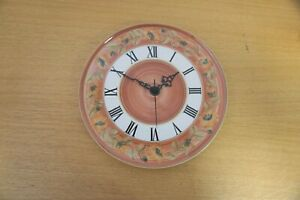 Jersey Pottery Ceramic Kitchen Clock - 28cm Diameter