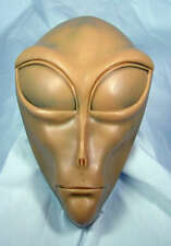 Alien UFO ufolog resin model plaque wall mounting display lifesize toy collector