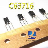 10 PCS BC637-16 C63716 TO92 NEW