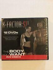 X FACTOR ST by WEIDER. 12 DVD SET 8-Week Training workout Program Abs Yoga