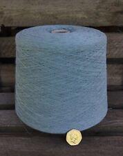 1.29 kgs Dark Duckegg 1/6 Cotton Yarn Cone.Weaving/Crochet/Knit