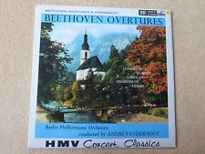 Beethoven Ouvertures - Berlin - Vandernoot - HMV SXLP 20031 Stereo (01264)