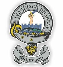 Clan Morrison Scottish Family Shield Sticker Vinyl Decal 3-53